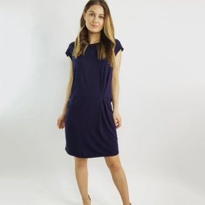 Eileen Fisher Navy Knit Dress